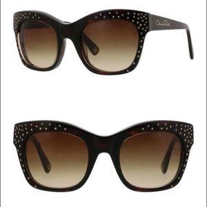 Oscar de la Renta –53mm Crystal Square sunglasses